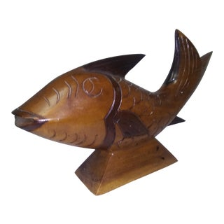 Hand Carved Koi Fish For Sale