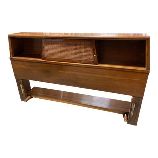1960s Mid Century Modern Bedroom Headboard by American Martins For Sale