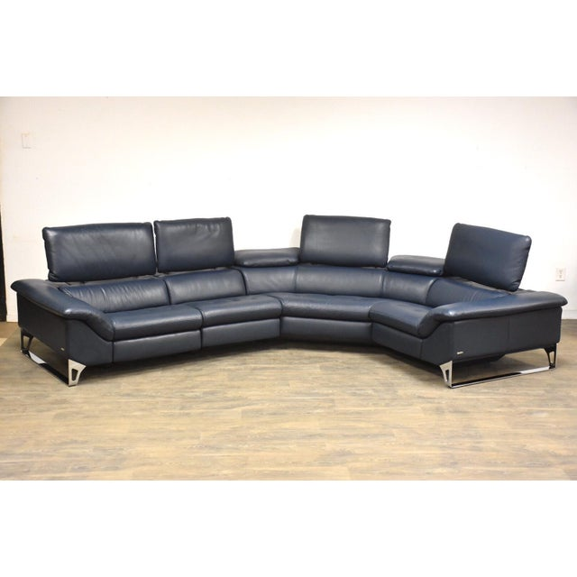 "Modern Roche Bobois ""Cinetique"" Reclining Modular Sofa For Sale - Image 3 of 13"