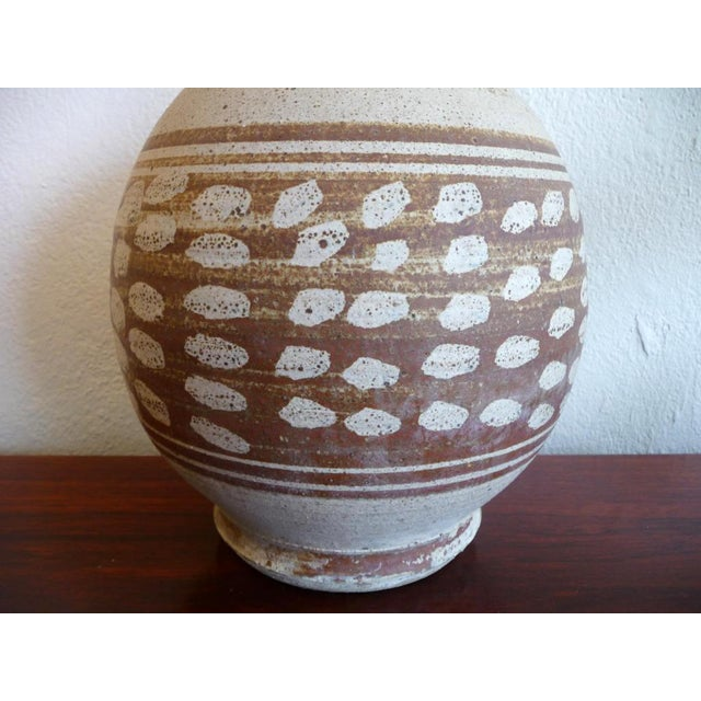 Mid-Century Modern Stoneware Pottery - Image 3 of 6