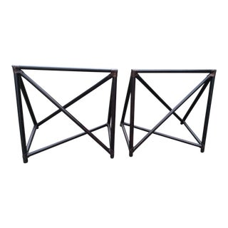 McGuire Sawhorses - a Pair For Sale