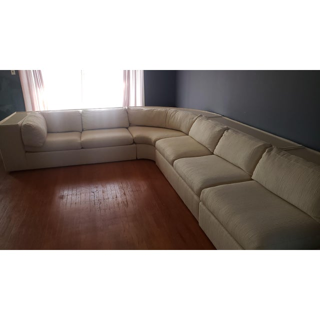 Milo Baughman for Thayer Coggin Sectional Sofa For Sale - Image 11 of 13
