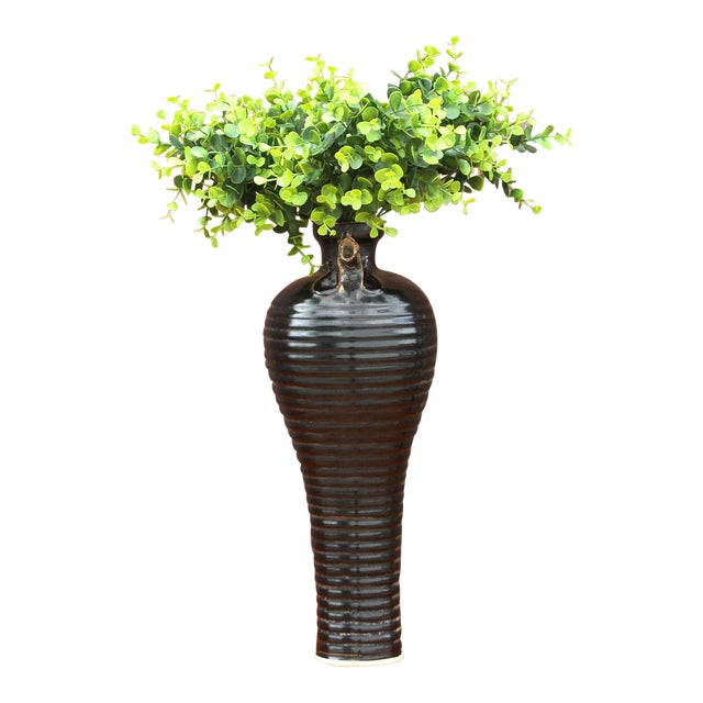 Unique Asian Rooster Vase For Sale