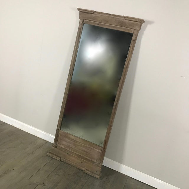 Restoration Hardware Rustic Full Length Mirror | Chairish
