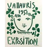 "Image of 1959 ""Vallaris 1951"" Pablo Picasso Lithograph Poster For Sale"