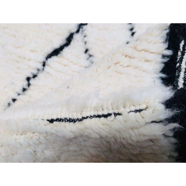 Tribal Authentic Berber Morocco Rug - 5′7″ × 8′ For Sale - Image 3 of 8