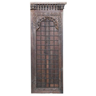 19th Century Anglo Indian Door