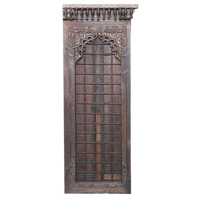 19th Century Anglo Indian Door For Sale