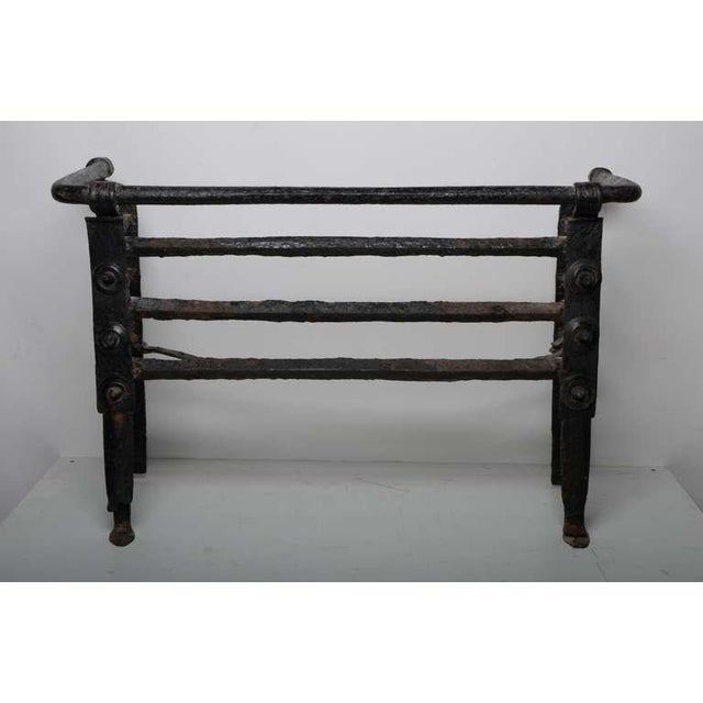 Antique Fire Grate/Bucket, 17th Century Dutch For Sale - Image 10 of 10