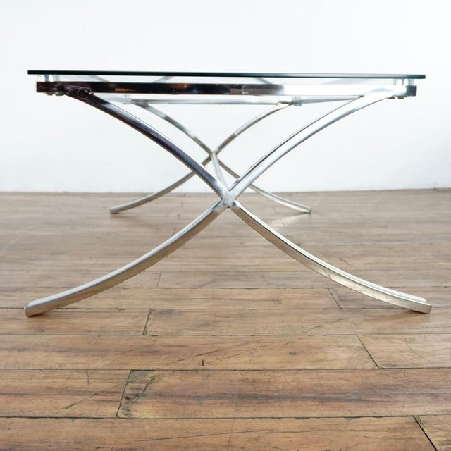 2010s Z Gallerie Barcelona Coffee Table For Sale - Image 5 of 7