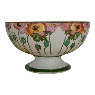 1910s Antique Arts and Craft Period Punch Bowl For Sale