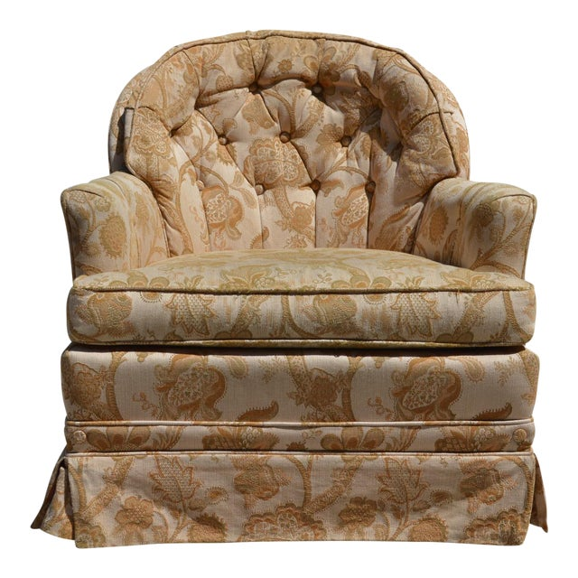 Woodmark Originals Tree of Life Barrel Back Chair - Image 1 of 9