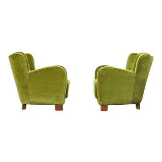 Pair of 1930s Danish Lounge Chairs