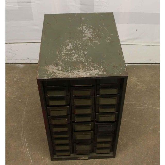 Vintage Addressograph Filing Cabinet For Sale - Image 6 of 9