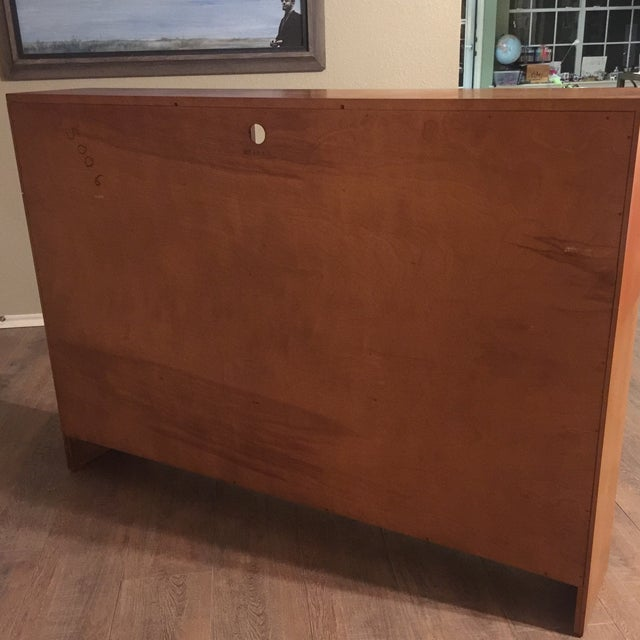 Conant Ball Russell Wright for Conant Ball Full Size Bookcase Headboard For Sale - Image 4 of 8