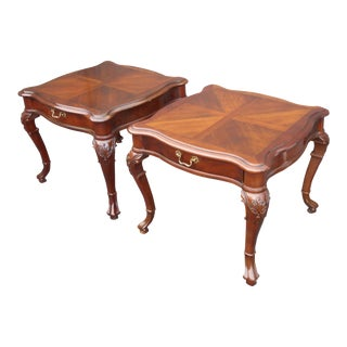 Vintage Century Furniture French Provincial End Tables - a Pair For Sale