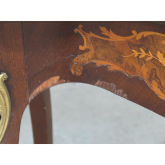 Victorian Inlaid Center Table For Sale In Philadelphia - Image 6 of 13