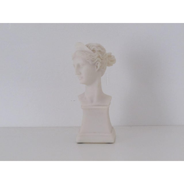 Marble Goddess Bust - Image 2 of 3