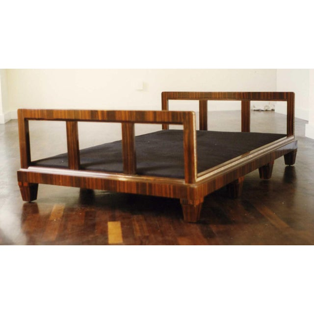 French Art Deco Macassar Ebony Daybed For Sale In New York - Image 6 of 6