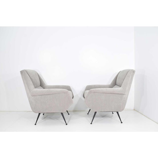 1960s Gigi Radice Lounge Chairs - a Pair For Sale - Image 5 of 10