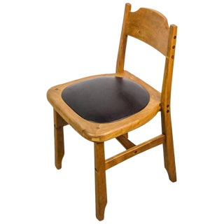 Signed Studio Chair by American Woodcraftsman Mike Bartell, 1993 For Sale