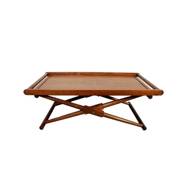 Modern Richard Wrightman Matthiessen Walnut Coffee Table For Sale - Image 10 of 10