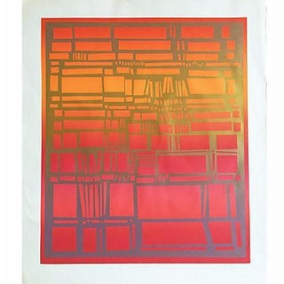 "Vintage Serigraph ""Improvisation V"" Nancy Koren"