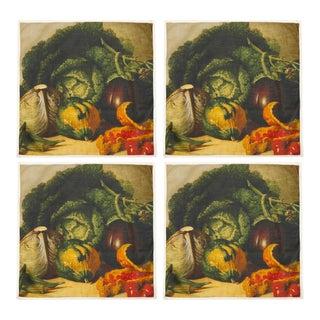 Harvest Dinner Napkins - Set of 4 For Sale