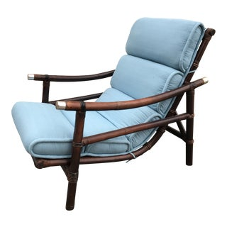 Ficks Reed Lounge Chair For Sale
