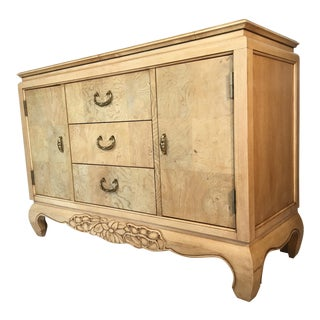 Century Furniture Burlwood Asian Chinoiserie Server
