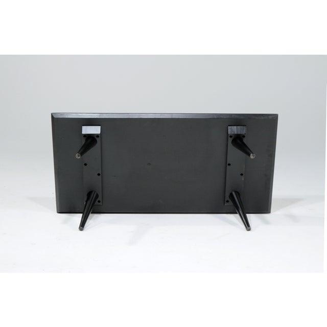 Black Petite 1960s Mid-Century Modern Paul MCobb Ebonized Low Table For Sale - Image 8 of 10