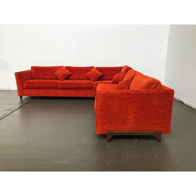 Sectional Sofa by Adrian Pearsall for Craft Associates For Sale - Image 11 of 12