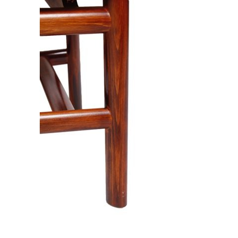 Danish Modern Rosewood 'Heart' Chairs - Set of 6 - Image 8 of 8