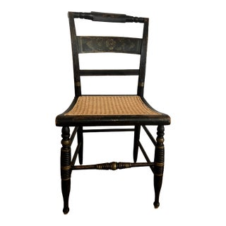 1800s Antique Farm Chair For Sale