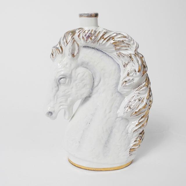Borghini Lacrima Christi Italian white wine horse head decanter. A must have collectors' piece!