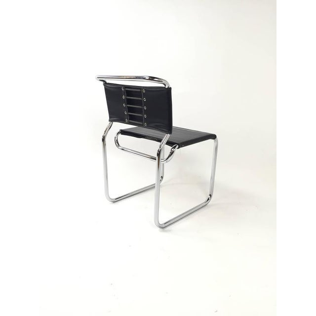 Nicos Zographos Cantilever Chairs - Set of 6 For Sale - Image 5 of 5
