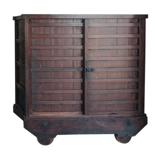 Japanese Tansu Cabinet For Sale