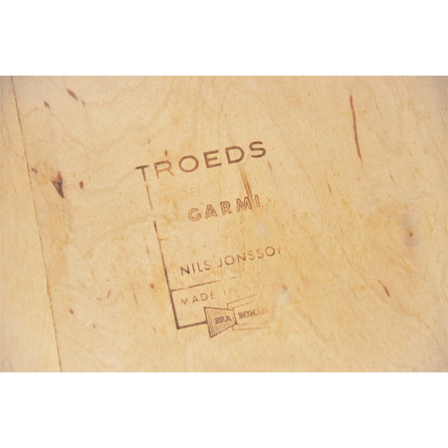 """Swedish Modern Teak """"Garmi"""" Dining Chairs by Nils Jonsson for Troeds - a Pair For Sale - Image 10 of 11"""