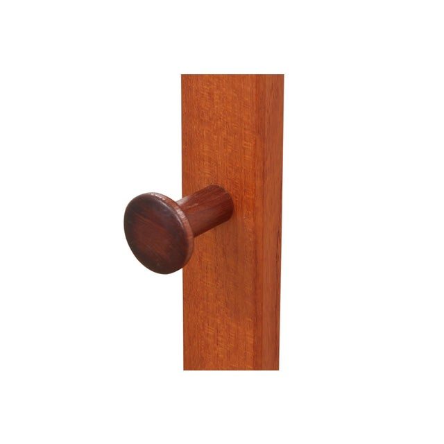 Mid-Century Modern 1960s Mid Century Modern Solid Wood Valet For Sale - Image 3 of 7