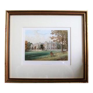 "1880 English Traditional Estate Print, ""Brantingham-Thorpe"" For Sale"