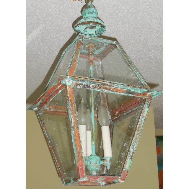 Rustic Copper Hanging Lantern - Image 2 of 10