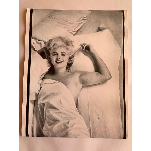 Vintage Portrait of Marilyn Monroe by Magnum Photographer Eve Arnold For Sale - Image 10 of 10