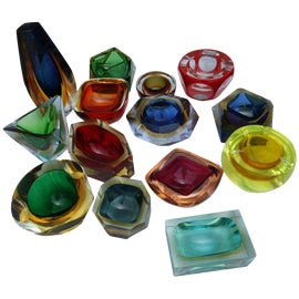 Image of Green Ashtrays