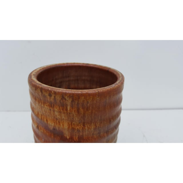 Ceramic Vamilen Vintage Studio Pottery Vase For Sale - Image 7 of 8
