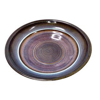 Bill Campbell Studio Art Glazed Pottery Bowl For Sale