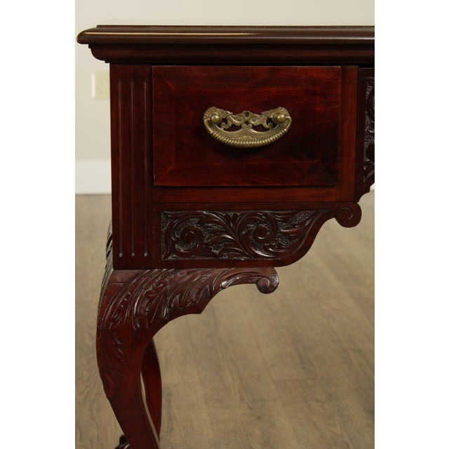 Victorian Era Chippendale Style Antique Carved Ball & Claw Vanity For Sale - Image 12 of 13