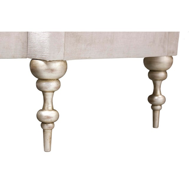 Inspired by the original design of Pauline de Rothschild, circa 1960. Solid maple frame construction with wood dowel...