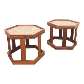 1960s Mid Century Modern John Keal End Tables - a Pair For Sale