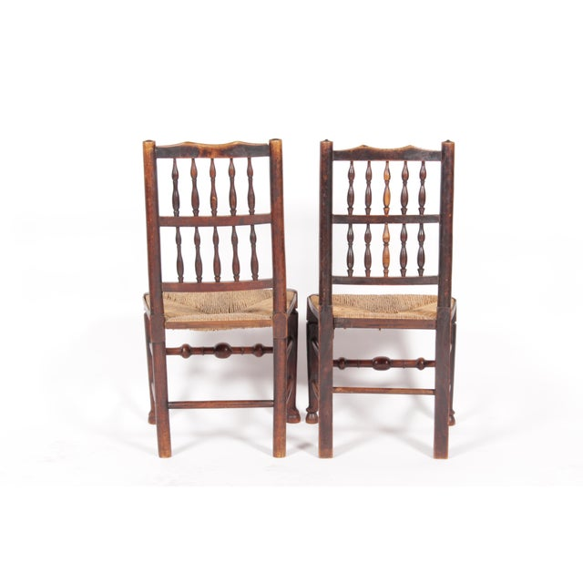 19th-C. Antique English Dining Chairs - Set of 4 - Image 5 of 11