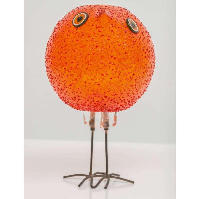"""Vistosi Murano Alessandro Pianon for Vistosi """"Pulcini"""" Glass Bird Sculpture For Sale - Image 4 of 8"""